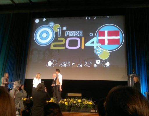 National Finalist of the European Charlemagne Youth Prize 2014
