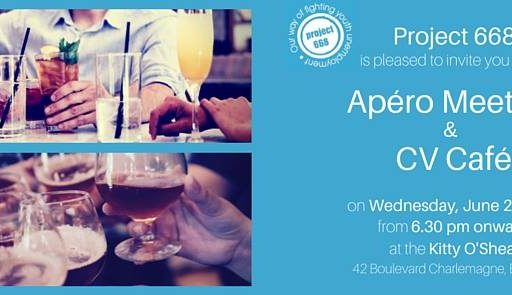 Apéro Meeting & CV Café – 29.06.2016