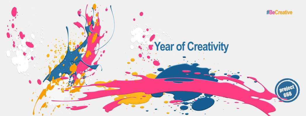 Project 668 announces the Year of Creativity